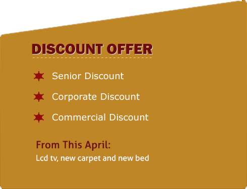Discount Offer - Valley Inn